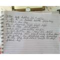 A super hot air balloon poem by Eadie.