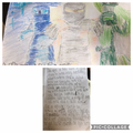 Oliver has been writing a ninja story- great!