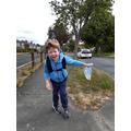 Oliver went for a lovely walk.