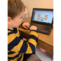 Joshua has been busy completing tasks on Mathletics.