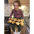 Delicious looking bread rolls.