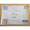 Ellie's fabulous Greece poster.