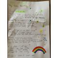 Lara created a COVID poem.