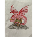 William's amazing dragon art!