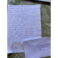 Freya's beautiful letter to the Queen