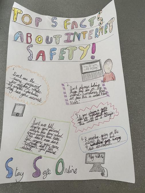 Sophie's top 5 facts from Safer Internet Day!