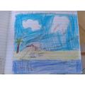 Lewis's creative 'Island' work!