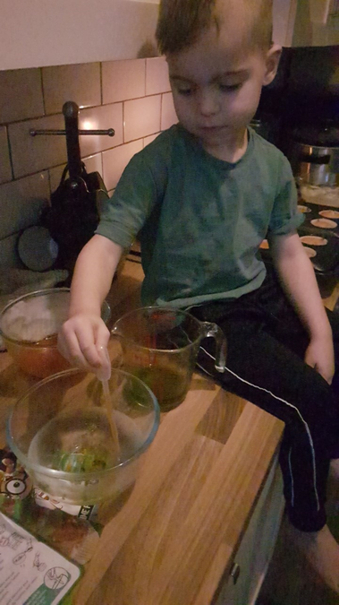Scientist in the making!