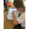 Henry has been blasting through this weeks maths.