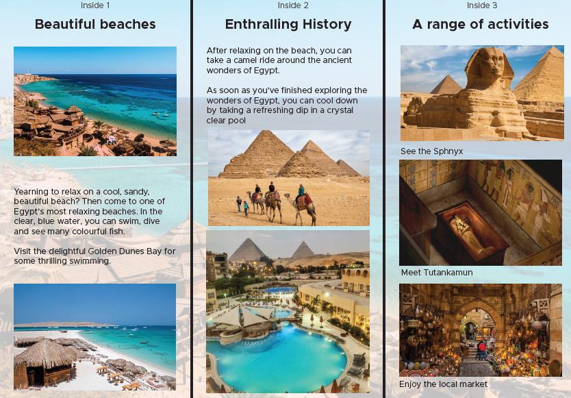 Matilde's exceptional Egypt leaflet part 2!