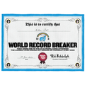 Esther has been breaking world records!