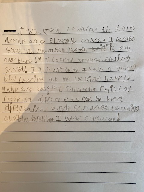 Harrison's amazing character description - wow!