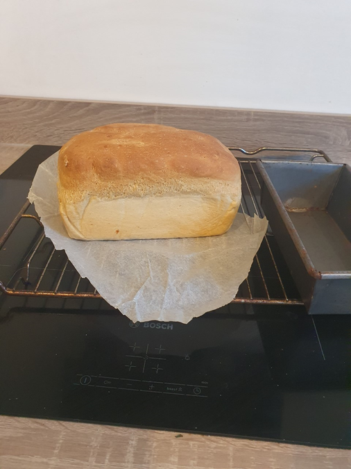 Van's baked bread...Yum!