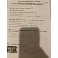 Super question sentences Joshua.
