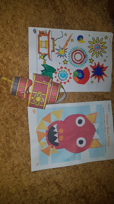 Charlie's Chinese New Year creations