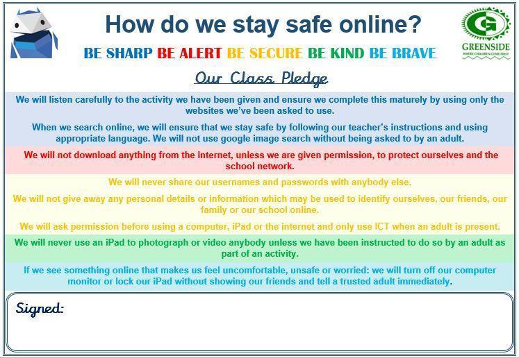 KS2 Pledge
