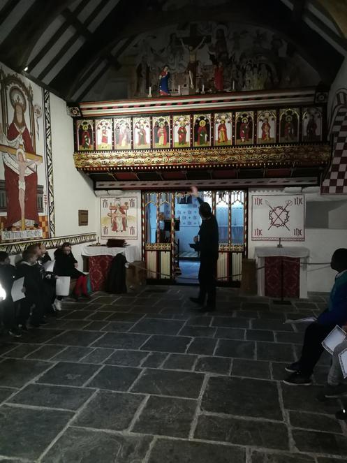 Altar in the Tudor Church