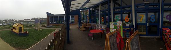 Nursery & Reception outdoor area