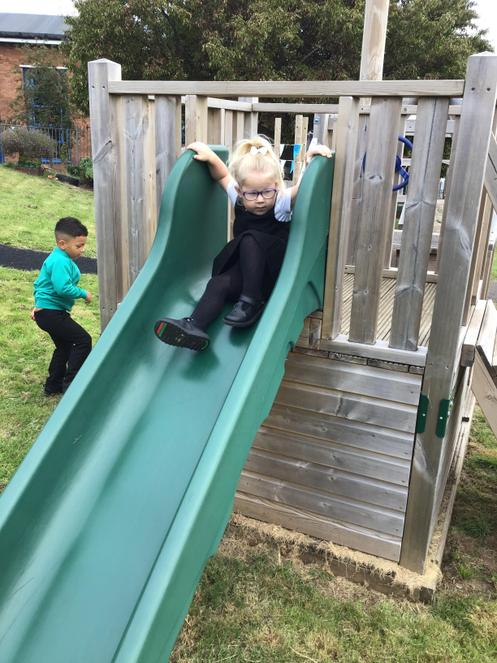I can use the slide