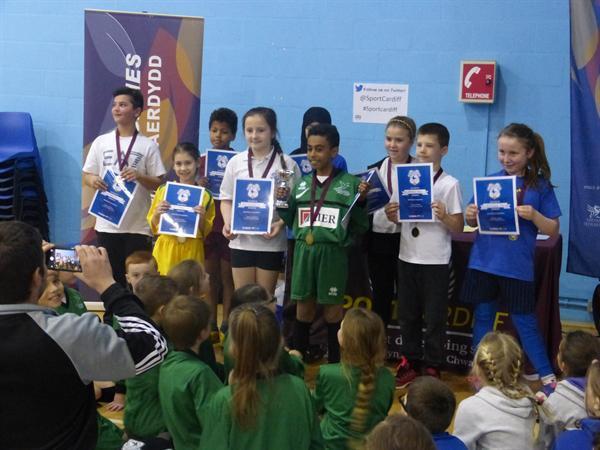 Yr 5 win Cardiff Schools multi sports competition