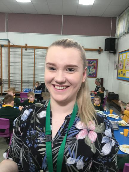 Miss Sloan, Classroom Assitant, Class 3