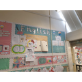 An excellent English display in Y6!