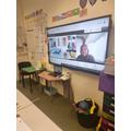 Virtual teaching in Year 4!