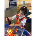 Exploring colours!