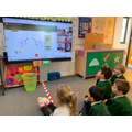 Reception children during a maths lesson!