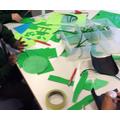 Children took part in different green activities!