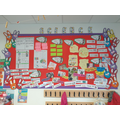 An excellent science display in Y2!