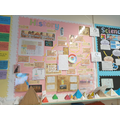 Excellent topic display in Y4!