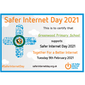 We were delighted to be recognised as a Safer Internet Day supporter!