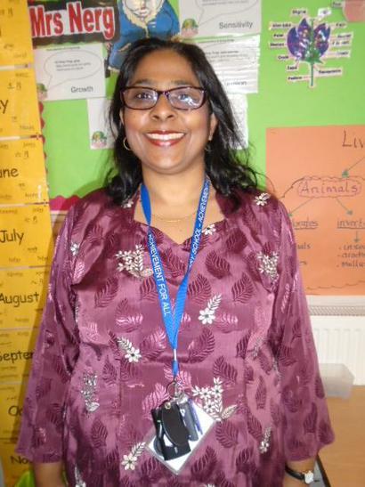 Mrs Azmi (Year Group Leader and 5FA Teacher)