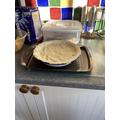 Josh's gammon and leek pie
