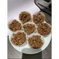 Miss White Jones & Evie's rice crispie cakes