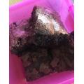 Poppy's toffee brownies