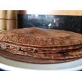 Alexie & Anastacia's chocolate pancakes