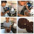 Ibukun's giant chocolate cookies