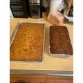 Mrs Argent's grapefruit cake & honey banana bread