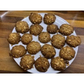 Katie's peanut & orange cookies