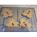 Mrs Jones and Finn's gingerbread men