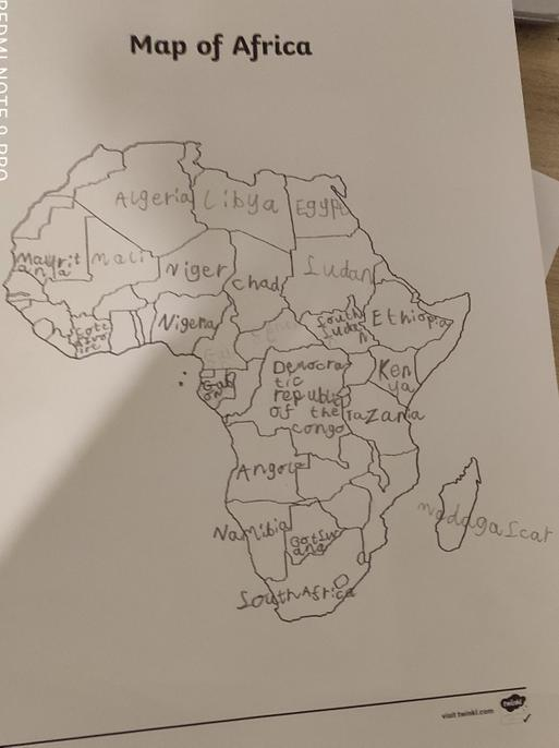 I'm impressed you have labelled all the countries, Bela.