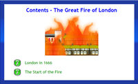 Infant Encyclopedia - The Great Fire of London
