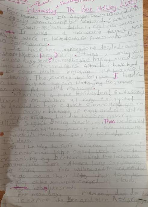 Some good editing, conjunctions and it sound like you had a great time.
