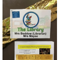 Library Door invites pupils to Reading Reward Time