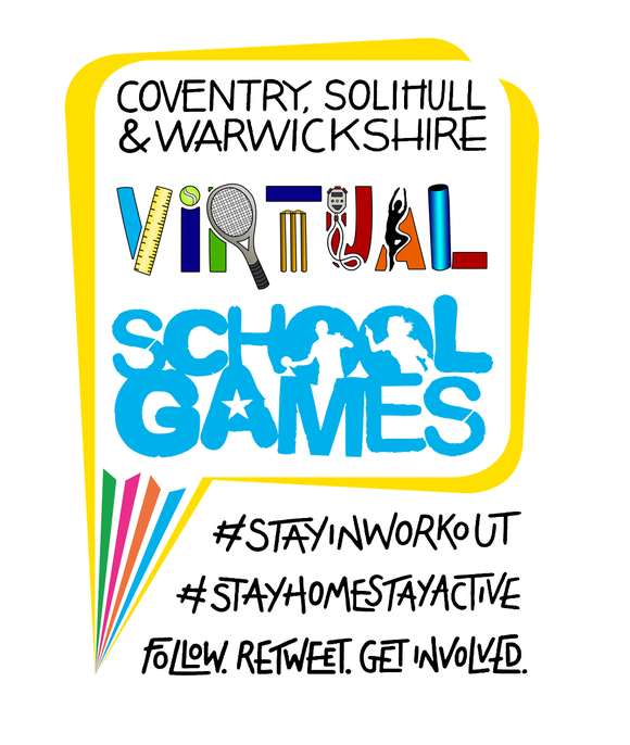 CSW Virtual School Games logo