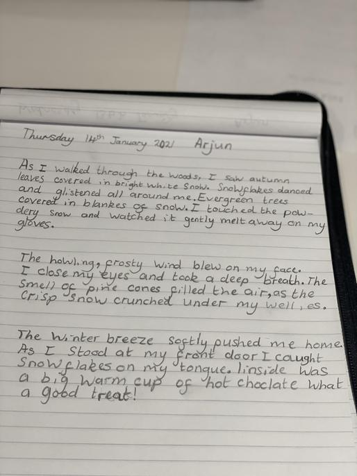 Wow, this is fantastic Arjun - brilliant use of adjectives!