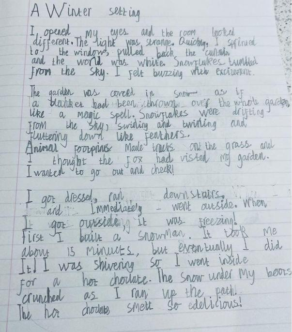 A fantastic description, Dylan with great descriptive phrases.