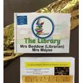 Library Door invites pupils to Golden Ticket time